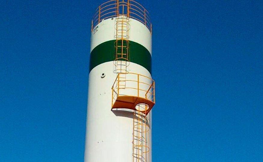 O Reservatório Vertical se adapta a terrenos de menor dimensão