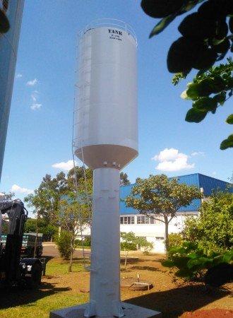 Reservatório tipo Taça sem Água na Coluna